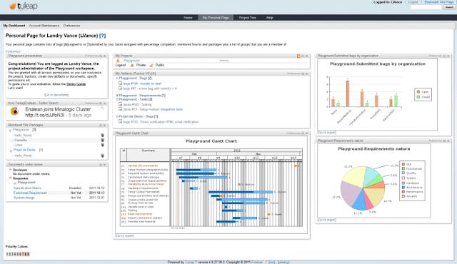Aplikasi Manajemen Proyek Berbasis Web - tuleap