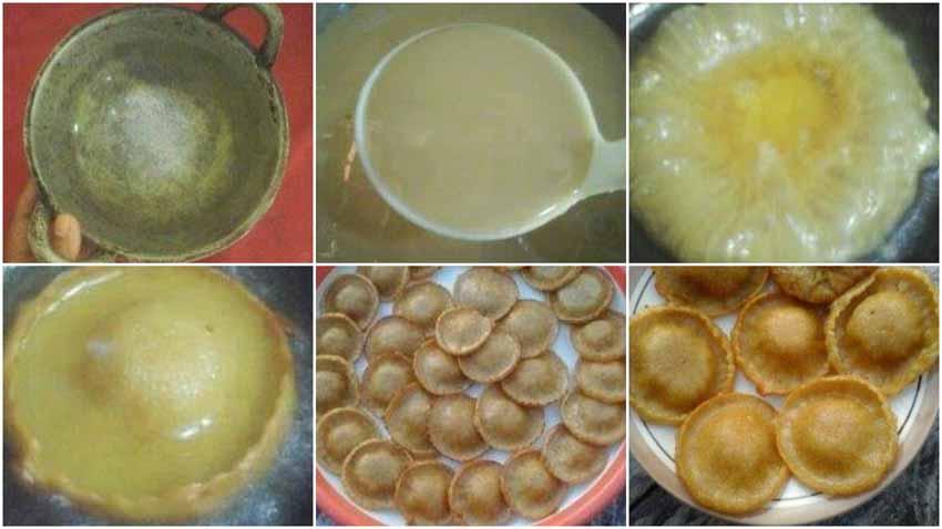 Resep Kue Cucur Tanpa Telur, Soda Kue, Baking Powder dan Tabok-Tabok Adonan