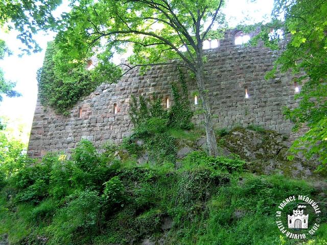 HEILIGENSTEIN (67) - Château du Landsberg
