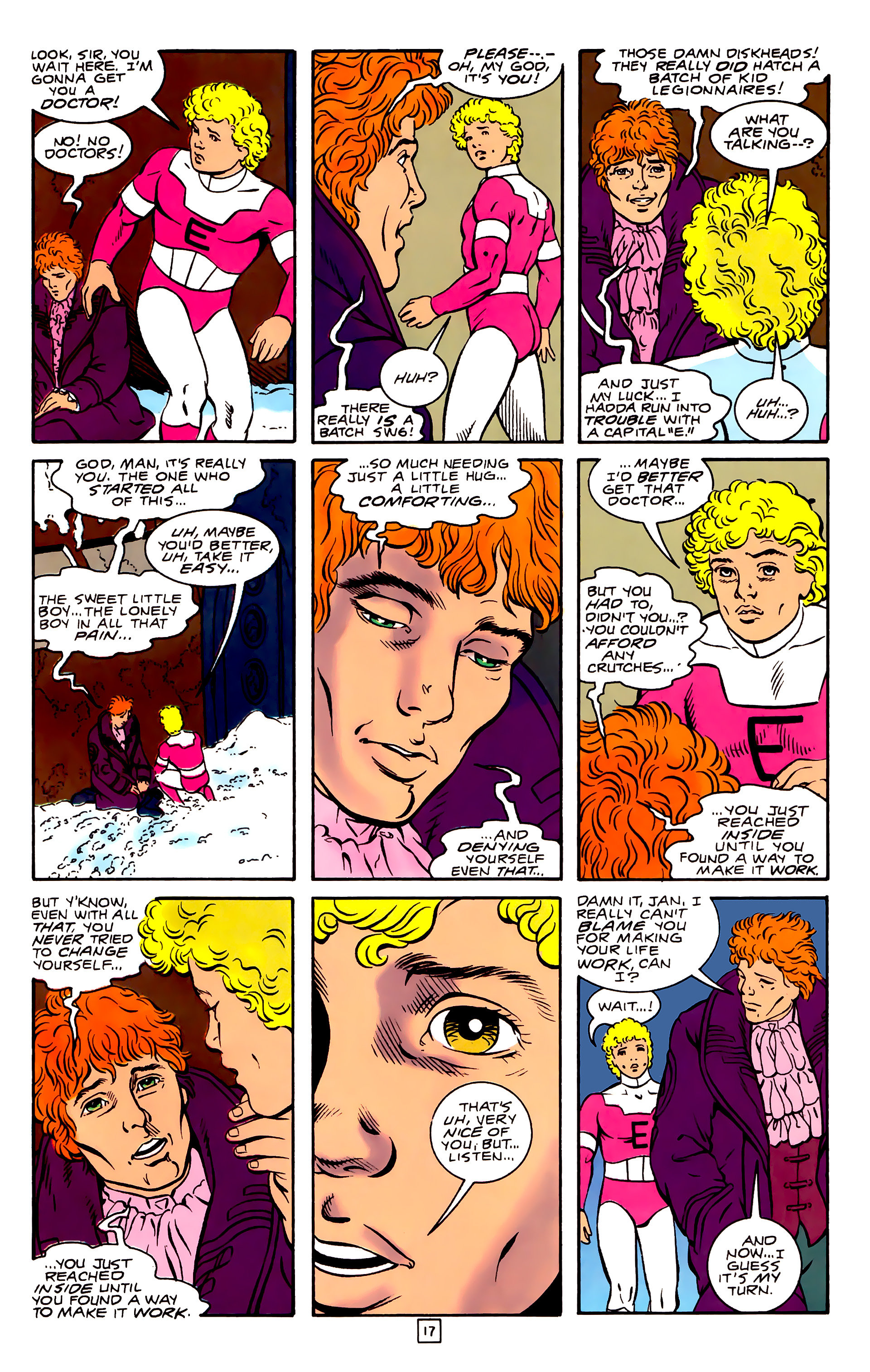Legion of Super-Heroes (1989) 31 Page 17