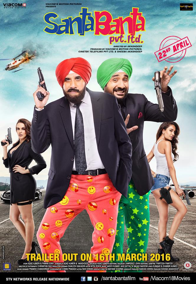 Watch Santa Banta (2016) DVDRip Hindi Full Movie Watch Online Free Download