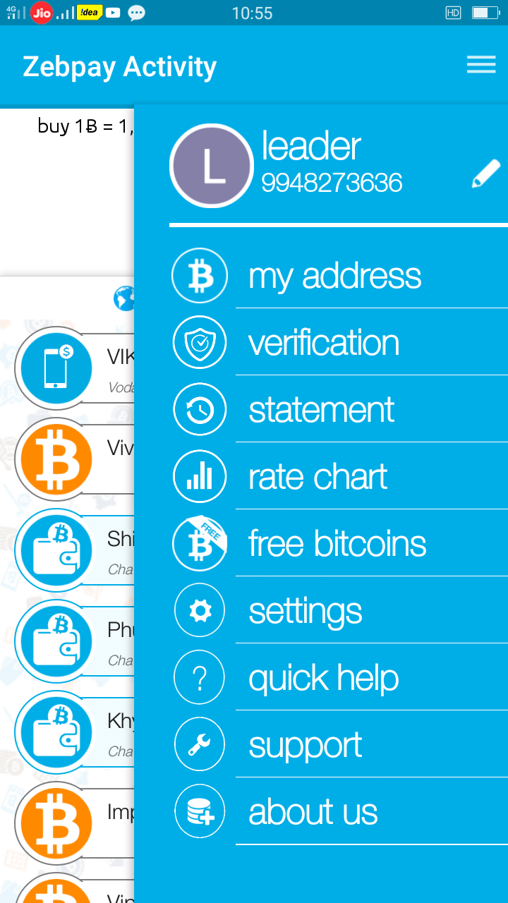 Earn money online zebpay wallet everything for technology how to get bitcoin wallet address zebpay ccuart Images