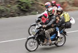 Tips Mengendarai Sepeda Motor Saat Mudik
