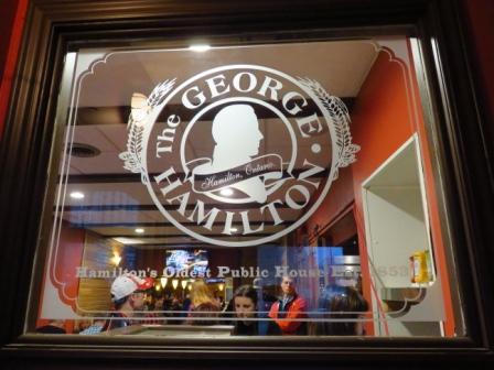 Teena in Toronto: The George Hamilton Restaurant & Bar