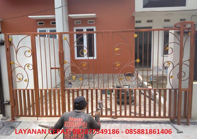 Harga Pagar Rumah Minimalis Bekasi 087877549186