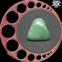 Instrumentos mágicos naturais - Presentes da Deusa Mãe: Quartzo Verde