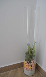 Wiosenna dekoracja w szkle
