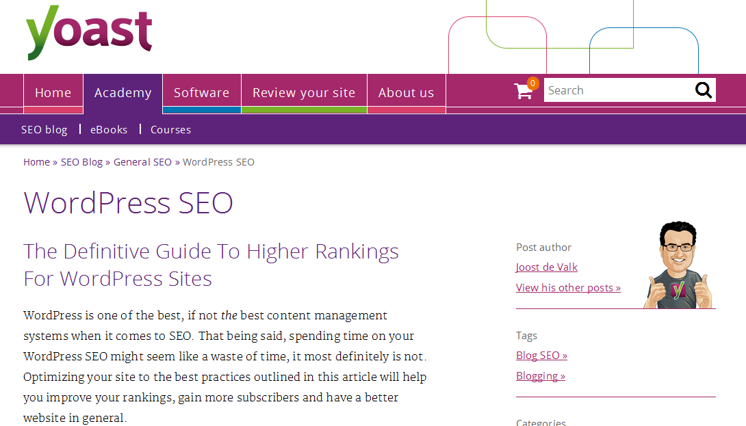 Guida a WordPress SEO by Yoast