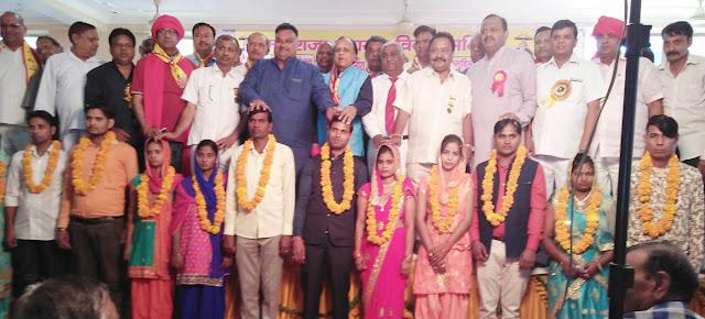 56 jawans agreed on the second day of the Sarva Jatiya Pratishthan Sammelan of Maharaaja Agrasen Marriage Committee