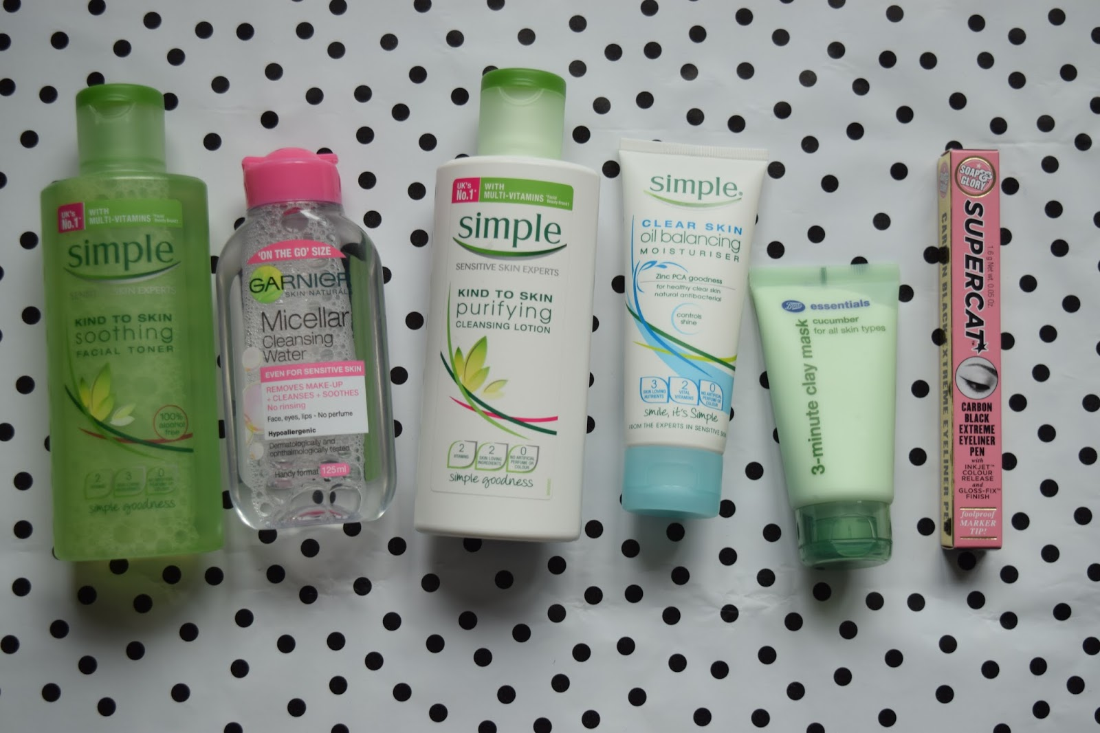 UK skincare haul drugstore