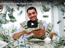 the laziest ways people have gotten rich