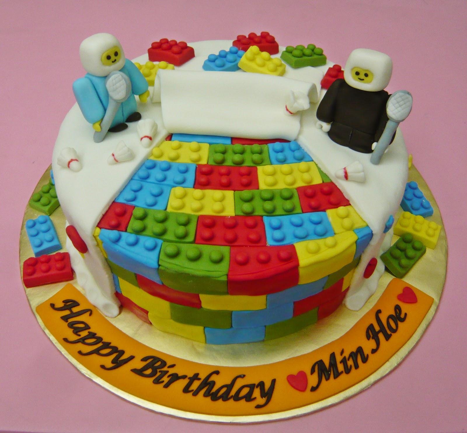 Jenn Cupcakes Amp Muffins Lego Theme Cake