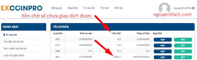 mua ban bitdeal san excoinpro.com