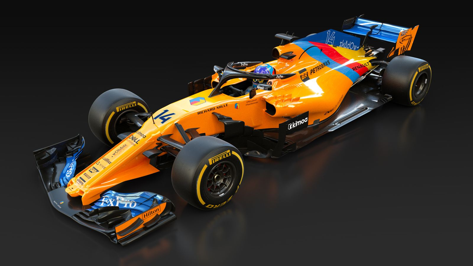 Fernando Alonso F1 Grand Prix Photo Special One Off Livery For Fernando Alonso Formula 1