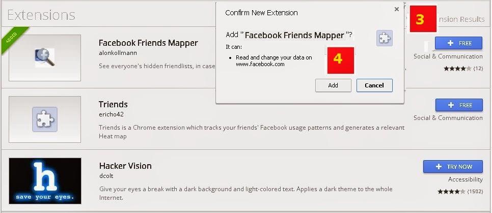 Prakticality: How To Hack Hidden Friends On Facebook