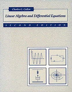 Linear Algebra and Differential Equations front cover