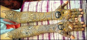 Rajasthani dulhan mehndi design