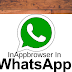 InAppbrowser In Whatsapp: WhatsApp or the Facebook's  API (Android programming interface)