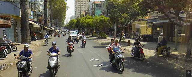 Cho thuê nhà Mặt tiền đường Hùng Vương quận 5. DT 4x17m