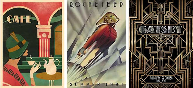 Samples Of Art Deco Style Graphic Design Art Deco Had It S Heyday In