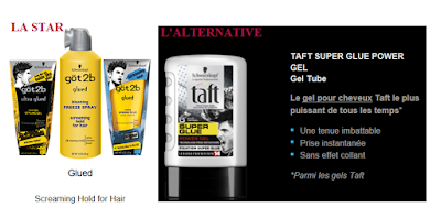 Hair tips: Une alternative au Got2Be...Le Taft Super Glue Power Gel)