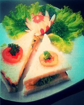 Resep Makanan Rumahan Sandwich Lapis Telur untuk Sehari-hari