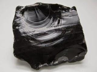 obsidiana vidrio volcanico  mineraloide