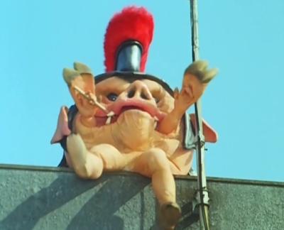 Pudgy Pig Dora Circe Zyuranger