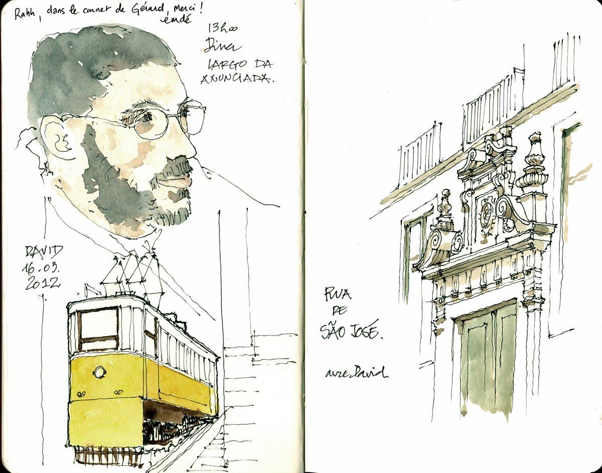 Again In Lisbon Urban Sketchers