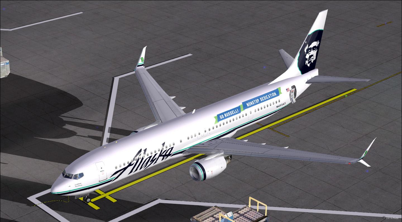 Boeing 737-990/ER / Alaska Airlines / N435AS / Go Russell