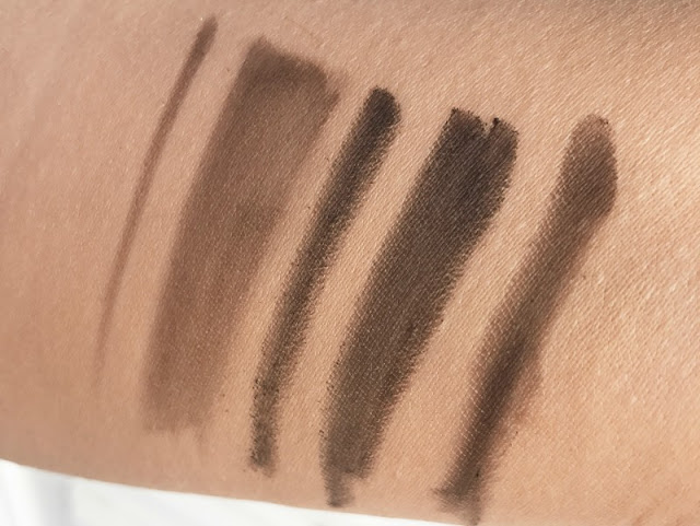 Benefit Foolproof Brow Powder Review Swatch Swatches