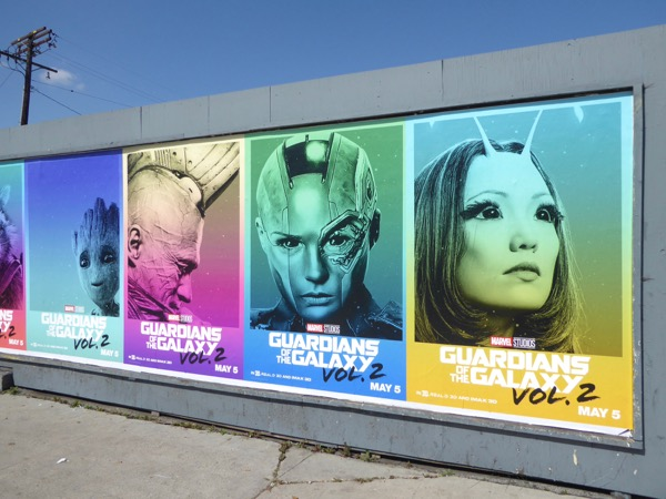 Guardians of the Galaxy 2 posters