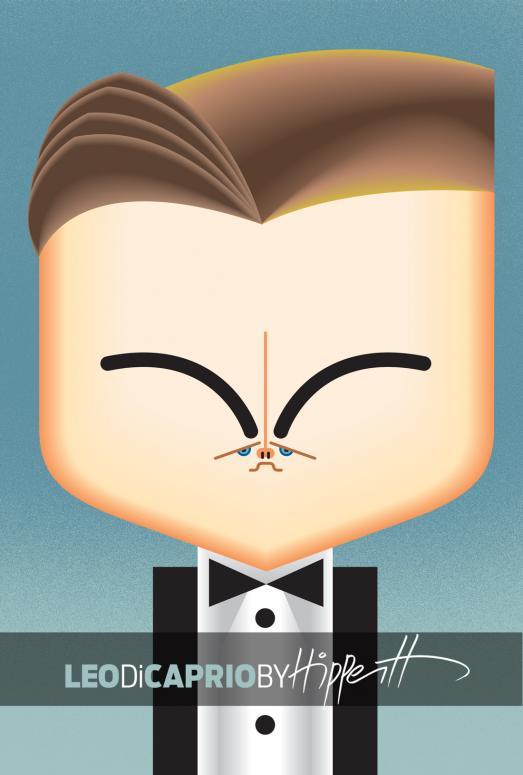 Leo DiCaprio por André Hippertt