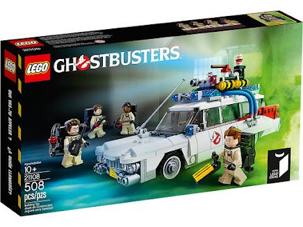 LEGO 21108 - Pogromcy duchów Ecto-1