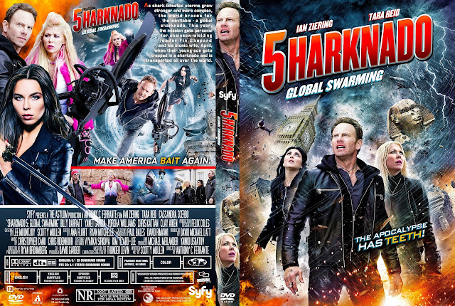 Sharknado 5: Global Swarming DVD Cover