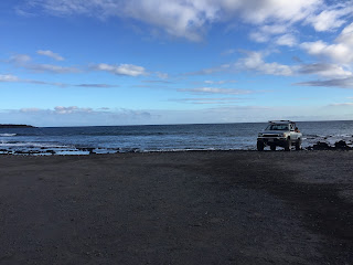 voir un pick up à Hawaii