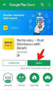 Buka aplikasi Berita Saku