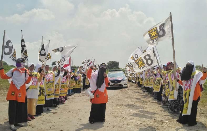 PKS Gresik sambut Prabowo