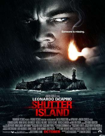 Poster Of Shutter Island 2010 Dual Audio 400MB BRRip 480p ESubs Free Download Watch Online Worldfree4u