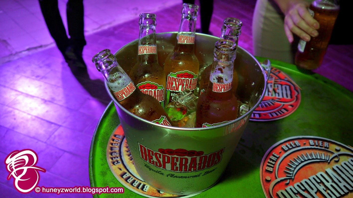 Party With Desperados Tequila Flavored Beer Huney Z World