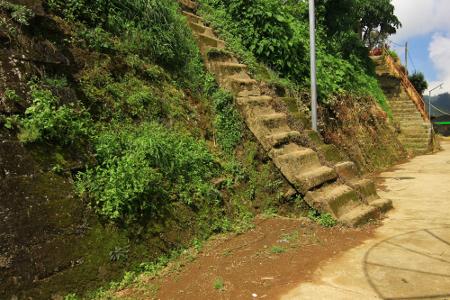 Watu Kelir, Tembok Bersejarah di Dieng Jawa Tengah