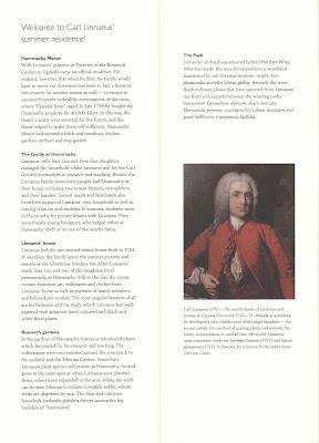Linnaeus Hammarby Brochure.