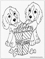 puppy coloring pages for free