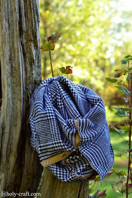 DIY vinyasa wrap scarf