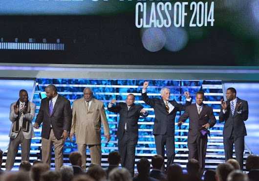 Pro Football Hall of Fame Inductees Class of 2014