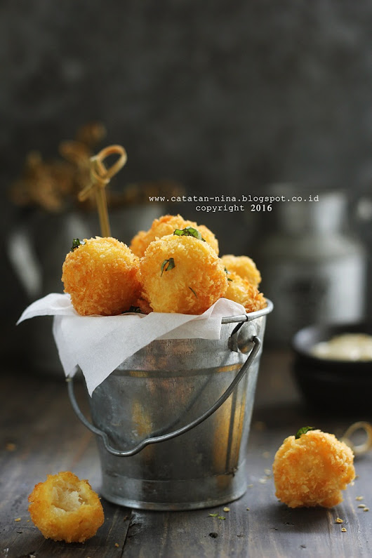 CHEESY FISH BITES - catatan-nina