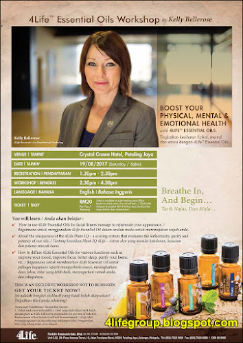 foto Bengkel Ceramah Produk 4Life Essential Oils