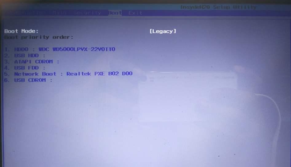cara mengatasi load driver dengan mengubah menu boot
