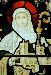 Saint Cuthburga, the first Abbess of Wimborne Minster