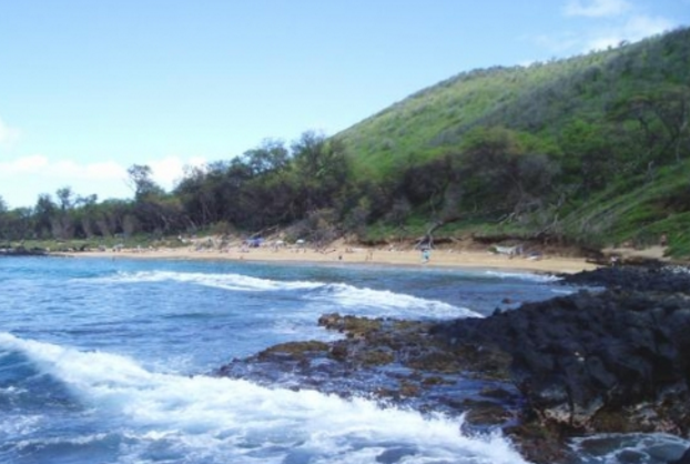 Small Sea (Little Beach)-Maui, HI